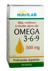 Omega 3-6-9 500mg 90 cps